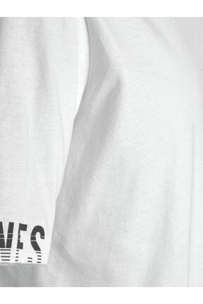 Jack & Jones Bisiklet Yaka T-shirt 12202294 Jcoduke 2