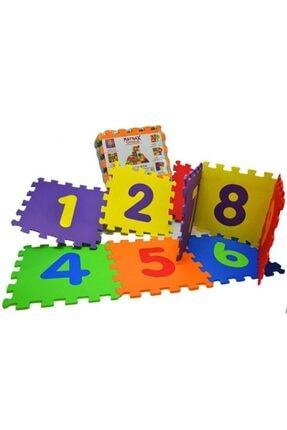AVDA 9 Parça Büyük Boy Rakamlı Sayılı Eva Oyun Karosu Yer Matı Puzzle Yapboz 4