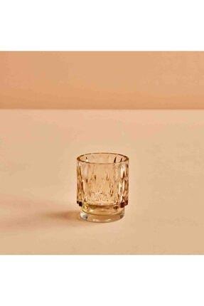 Bella Maison Drop Amber Tealight Mumluk (7x8 Cm) 0