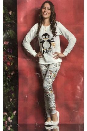 TUGSE Polar Pijama Takımı Ev Kıyafeti 0