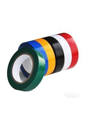 DİRİLİŞ Yayke Renkli Elektrik Bandı 10 Lu Izole Bant 0
