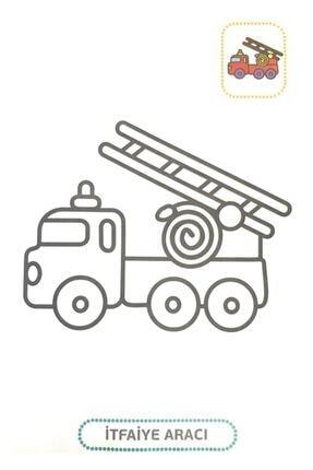 Karatay Yayınları Karatay Çocuk Gelişimine Uygun Afacan Boyama Kitabı Seti 10 Lu 1