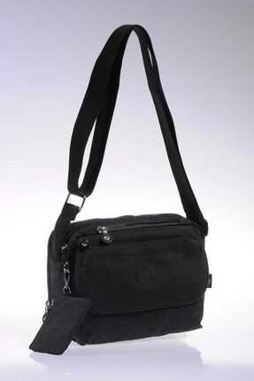 Smart Bags Smb1172-0001 Siyah Kadın Çapraz Çanta 1