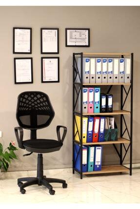 Orianna Design Fileli Döner Koltuk Çalışma Koltuğu Laboratuvar Sandalyesi Dönerli Sandalye 4