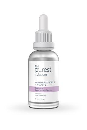 The Purest Solutions Göz Altı Torbalanma Ve Morluk Karşıtı Bakım Serumu 30 Ml (caffeine Solutions 5% + Vitamin C) 1