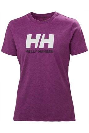 Helly Hansen Kadın Pembe Hh W Hh Logo T-shırt 0