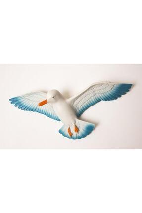 Crey Hediyelik Üçlü Kuş Duvar Süsü, Üç Boyutlu Martı, Dekoratif Aksesuar, Balkon Süsü, Bahçe Süsü, Hediyelik Eşya 2
