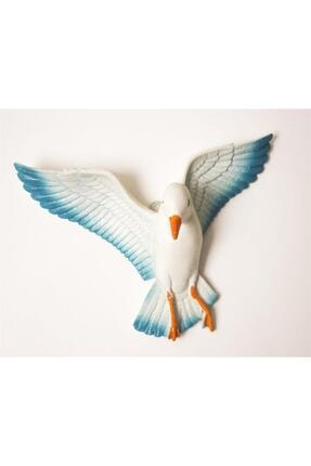 Crey Hediyelik Üçlü Kuş Duvar Süsü, Üç Boyutlu Martı, Dekoratif Aksesuar, Balkon Süsü, Bahçe Süsü, Hediyelik Eşya 3