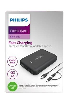 Philips Hızlı Şarj Taşınabilir Powerbank 10000mah Dlp1510ab 2