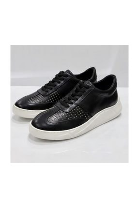 Tetri Erkek Siyah Deri Ayakkabı 2