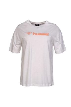 HUMMEL Kadın Gudrun Kısa Kollu T-Shirt 910979-9003 0