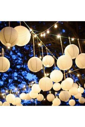 Parti Feneri Beyaz Japon Feneri 20cm 1