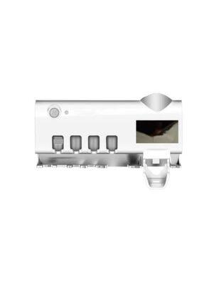 Taled Akıllı Diş Macunu Sıkacagı Dispenser Uv Fırça Sterilizatör Tutucu 2