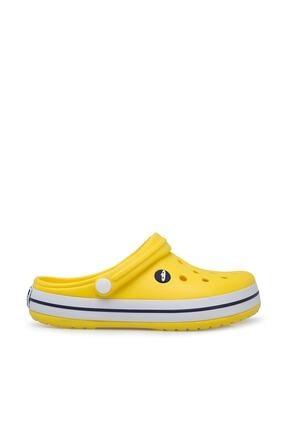 Akınalbella Sarı Şeritli Crocs Terlik 2