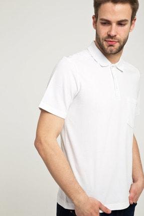 Kiğılı Erkek Beyaz Polo Yaka T-Shirt - Cdc01 1