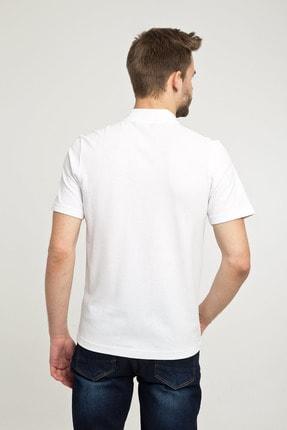Kiğılı Erkek Beyaz Polo Yaka T-Shirt - Cdc01 2