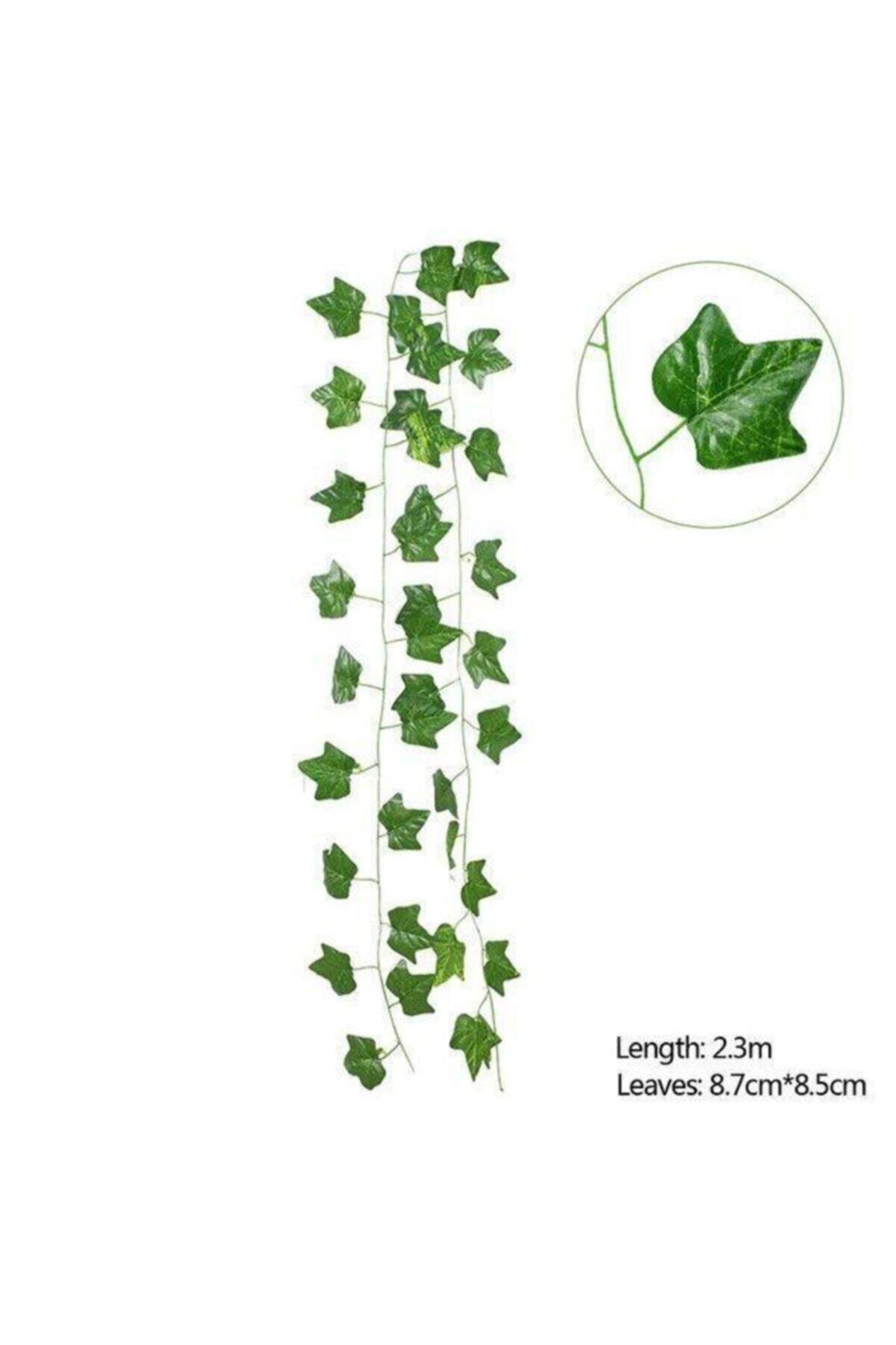 Nettenevime Yapay Sarmaşık Üçgen Yaprak Yapay Çiçek Dekoru 230cm X 3adet