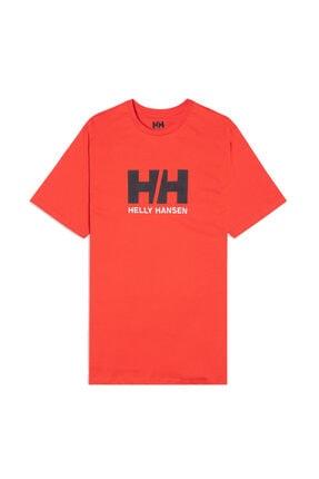 Helly Hansen Erkek Turuncu T-shırt 0