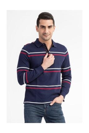 Kiğılı Erkek Lacivert Polo Yaka T-Shirt - 29334 0