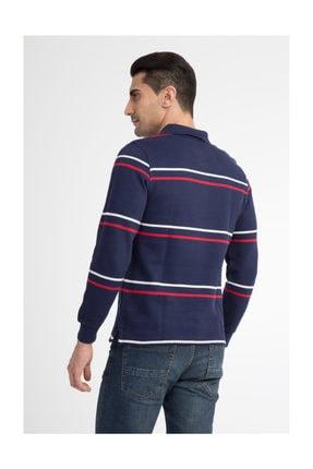 Kiğılı Erkek Lacivert Polo Yaka T-Shirt - 29334 2