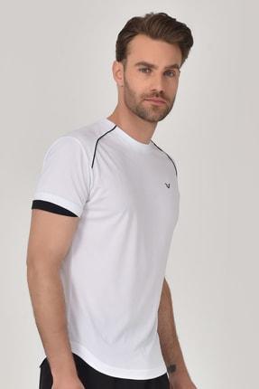 bilcee Beyaz Erkek T-shirt  GS-8821 4