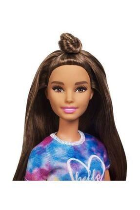 Barbie Fashionistas Bebek ve Aksesuarları Hello Tişörtlü FYB31-FBR37 2