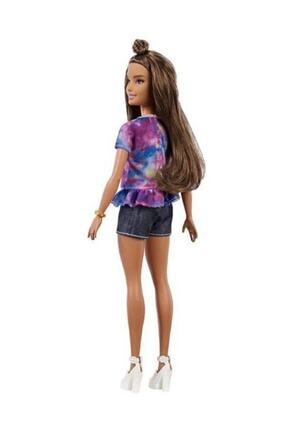 Barbie Fashionistas Bebek ve Aksesuarları Hello Tişörtlü FYB31-FBR37 3