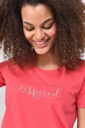 bilcee Pembe Kadın T-Shirt GS-8615 1