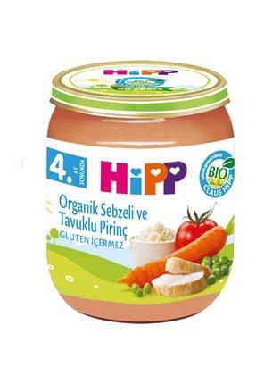 Hipp Organik Pirinçli Ve Tavuklu Sebze Püresi 125 gr 0