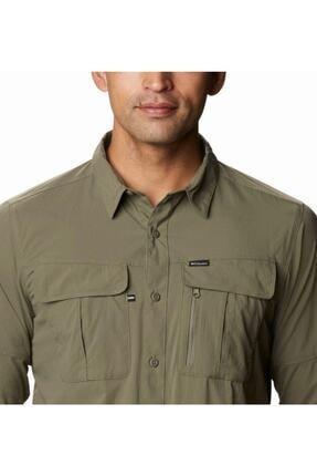 Columbia Erkek Yeşil Cepli Gömlek Ao0762-397 3