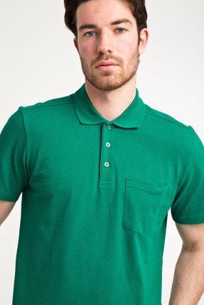 Kiğılı Erkek Yeşildüz Polo Yaka Pıke T-Shırt - Cdc01 1
