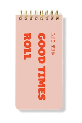 Fabooks Let The Good Times Roll Spiral Bloknot 0