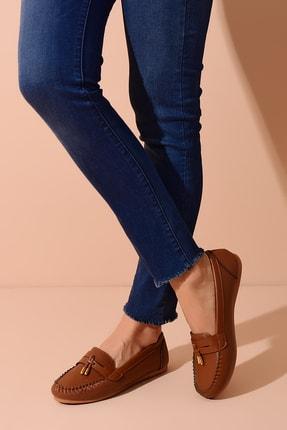 Shoes Time Taba Kadın Babet 20Y 417 4