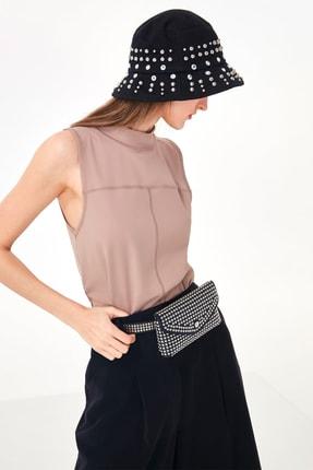 Twist Kadın Taş Kolsuz Tshirt TS1200070211030 2