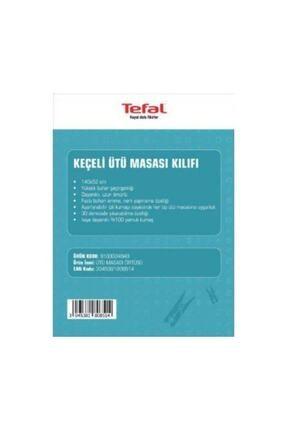 TEFAL Ütü Masası Kılıfı Bezi (Keçeli %100 Pamuk) 140x52 1
