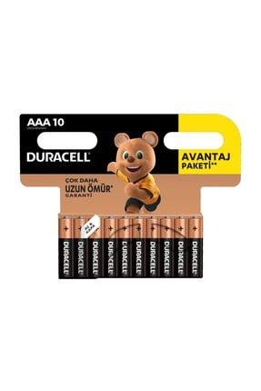 Duracell Basic Ince Kalem Pil 10'lu Aaa 0