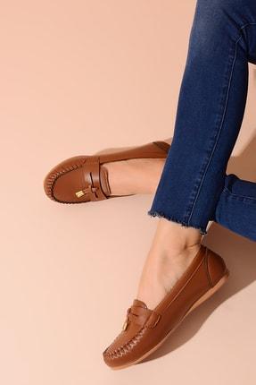 Shoes Time Taba Kadın Babet 20Y 417 1