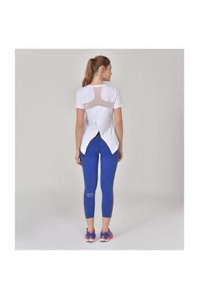 bilcee Beyaz Kadın Sırt Detaylı Kadın T-Shirt GS-8110 2