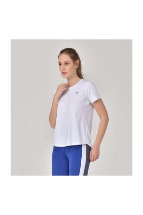 bilcee Beyaz Kadın Sırt Detaylı Kadın T-Shirt GS-8110 0
