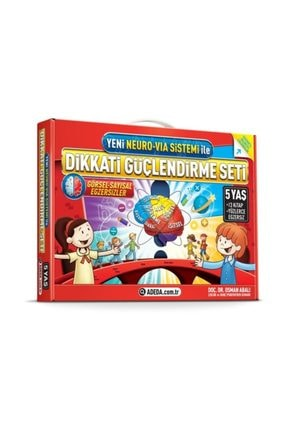 Adeda Yayınları Osman Abalı 5 Yaş Dikkati Güçlendirme Seti Dgs +Hikaye Seti 2