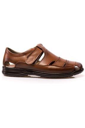 maximoda Erkek Hakiki Deri, Klima Taban, Sandalet 0