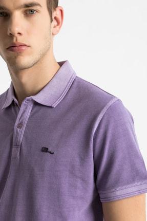 Ltb Erkek  Mor Polo Yaka T-Shirt 012208454160890000 1