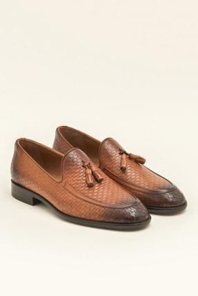 Elle SVERRE Deri Taba Erkek Ayakkabı 1