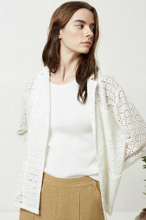 Yargıcı Kadın Kırık Beyaz Brode Ceket 0YKCK5150X 0