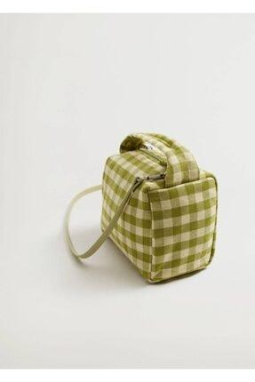 Mango Mini Kumaş Çanta 3