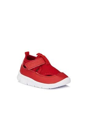 204 Kırmızı Unisex Anatomik Ev Yuva Kreş Ayakkabısı resmi