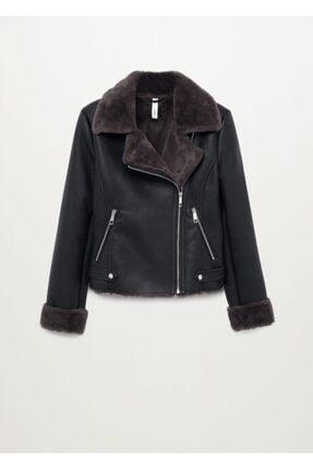 Mango Kadın Siyah Ceket 2