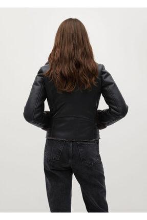 Mango Kadın Siyah Ceket 3