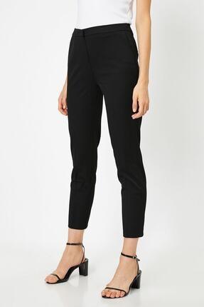Koton 21kak42184rw Kadın Klasik Pantolon Siyah 2
