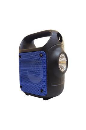 Teknoloji Gelsin Kts1185 Mavi Bluetooth Hoparlör El Feneri Kablosuz Speaker Taşınabilir Ses Bombası Askılı 0
